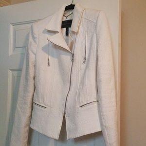 BCBG Max Azria Boe Jacket in Gardenia